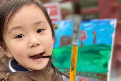 小央美儿童美术教育,逐梦,不为跑赢世界,只为超越自己